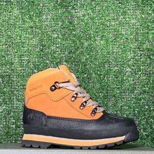 TIMBERLAND TODDLER SHELL-TOE EURO HIKER BOOTS
